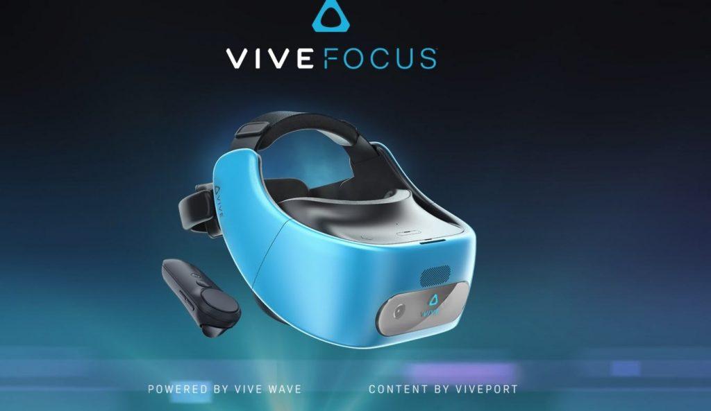HTC представляет независимый VR-шлем Vive Focus