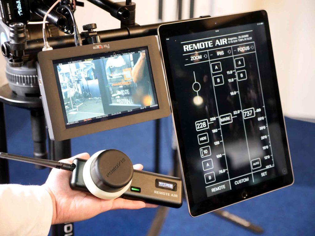 Беспроводная система фокусировки PDMOVIE Remote Air 3 представлена на конференции IBC 2017