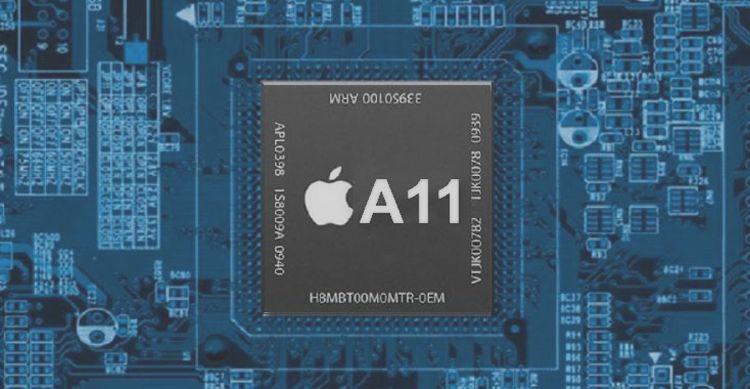 Процессор Apple A11X: 8 ядер и 7 нм