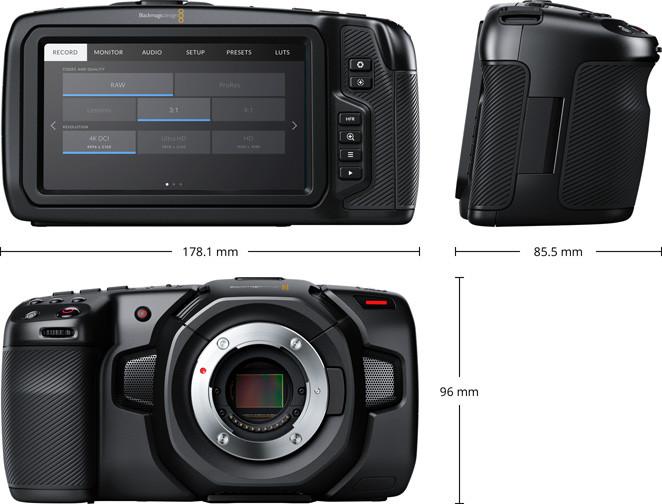 Blackmagic Design представила Pocket Cinema Camera 4K
