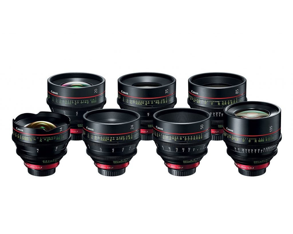Полнокадровая Canon C700 FF