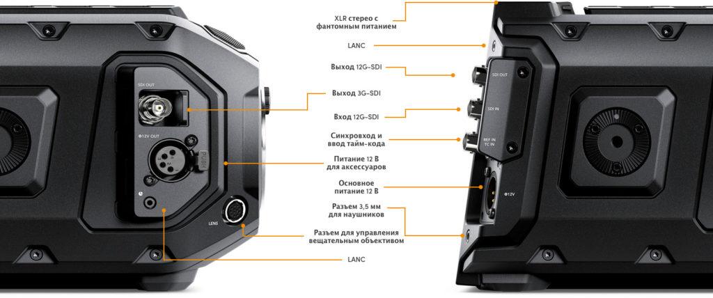 Blackmagic URSA Mini Pro -  профессиональная кинокамера с функционалом техники вещательного класса