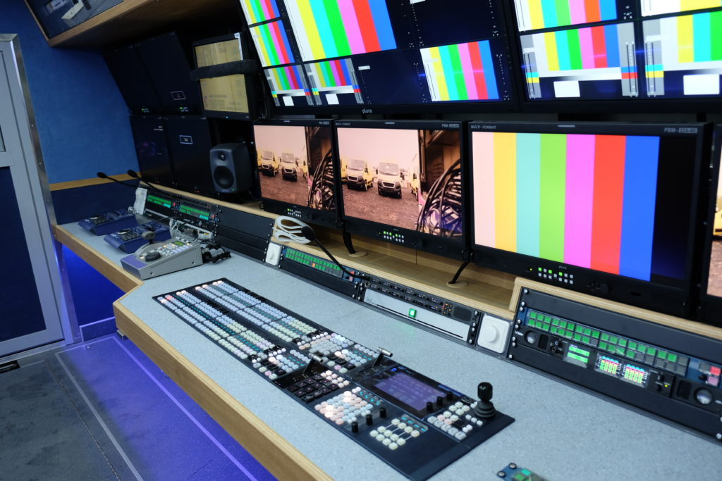 #IBC-2019: Рабочее пространство и «начинка» первой российской ПТС формата UHD