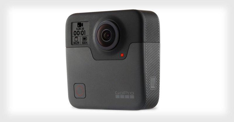 Анонсирована 360-градусная камера GoPro Fusion - VIDAU Systems