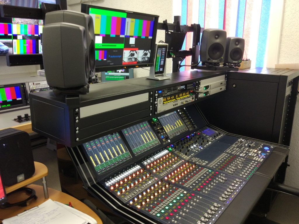 #Модернизация аппаратно-студийного комплекса ТРК