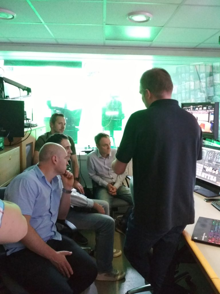 #Презентация RossVideo Voyager для РЕН ТВ и Vinterra TV