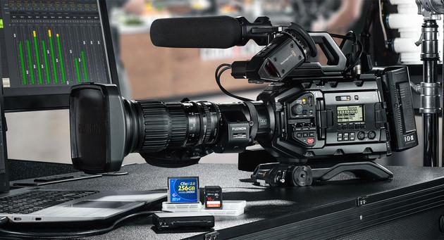 Новинка: 4K телекамера Blackmagic